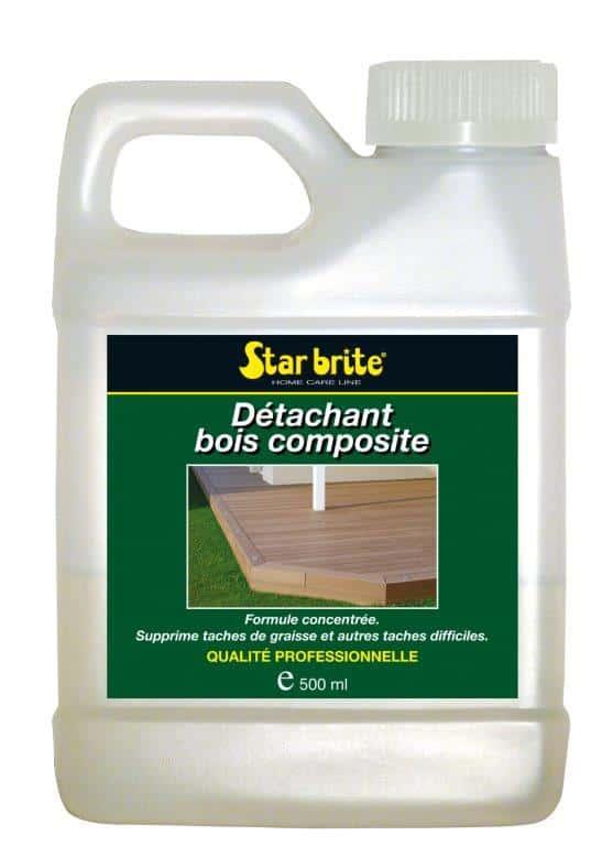 DETACHANT BOIS COMPOSITE 500 ml - Détachant bois composite - STARBRITE - 500ml