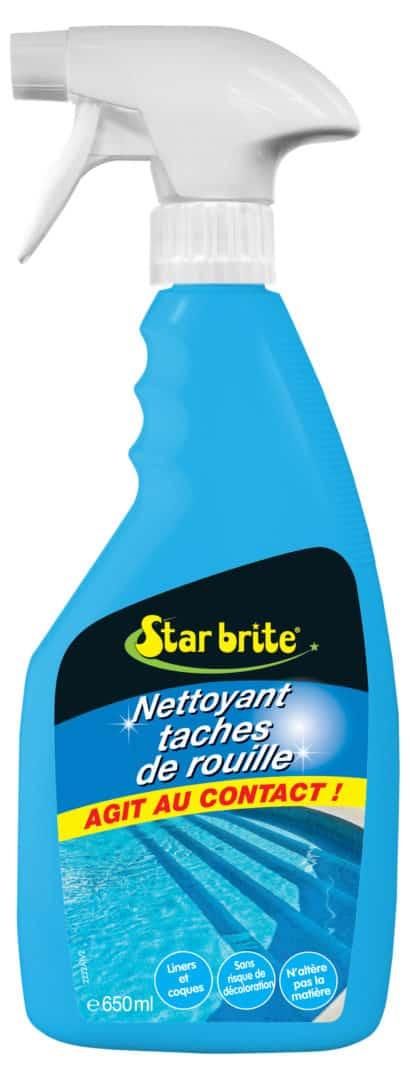 DETACHANT ROUILLE 650 ml - Détachant tache de rouille pour piscine et spa - STARBRITE - 650 ml