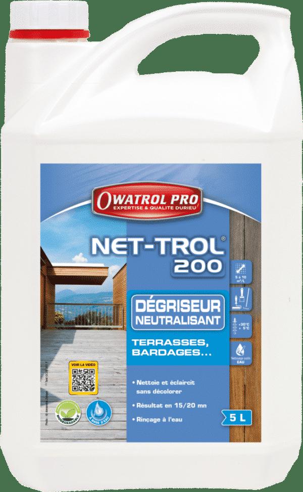 NET TROL 200 5 L - Dégriseur bois - OWATROL - Net-Trol 200