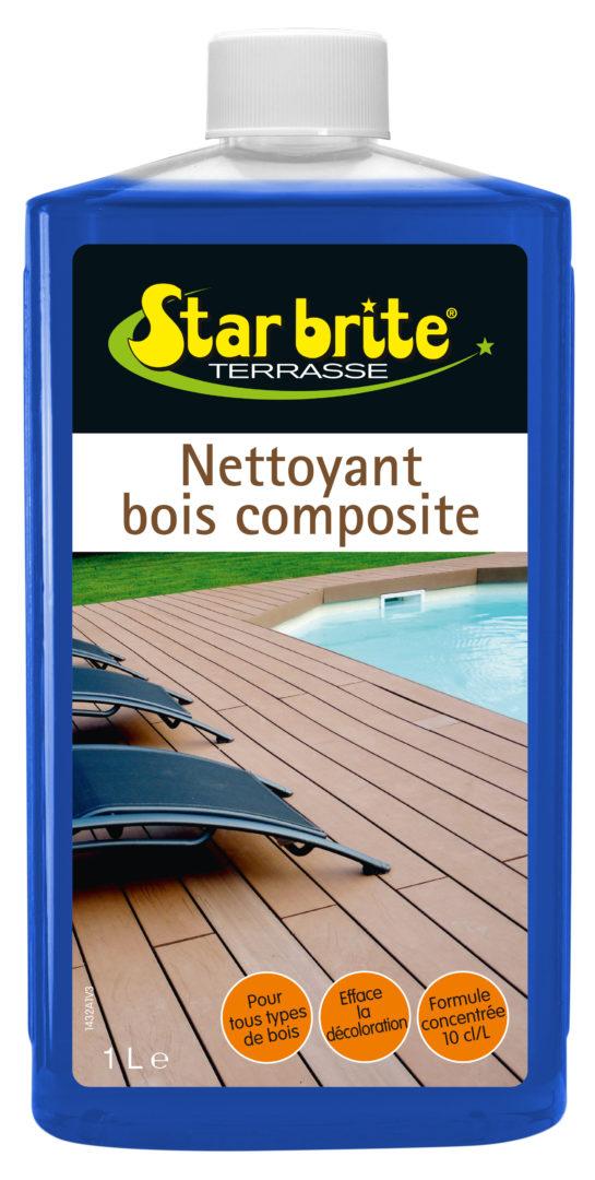 NETTOYANT BOIS COMPOSITE 1 L - Nettoyant bois composite - STARBRITE - 1l