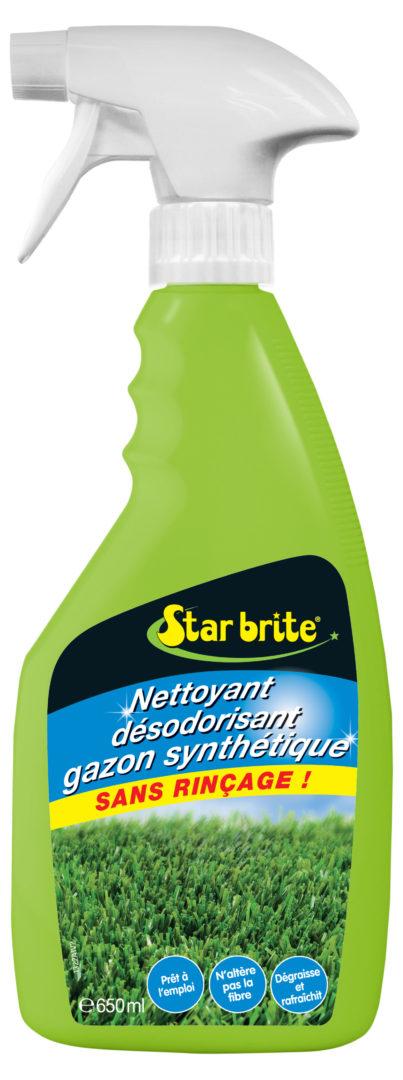 NETTOYANT GAZON SYNTHETIQUE 650 ml - Nettoyant gazon synthétique sans rinçage - STARBRITE - 650 ml
