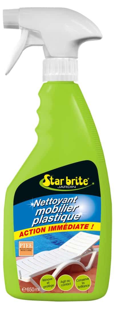 NETTOYANT PLASTIQUE 650 ml - Nettoyant protecteur mobilier plastique - STARBRITE - 650ml