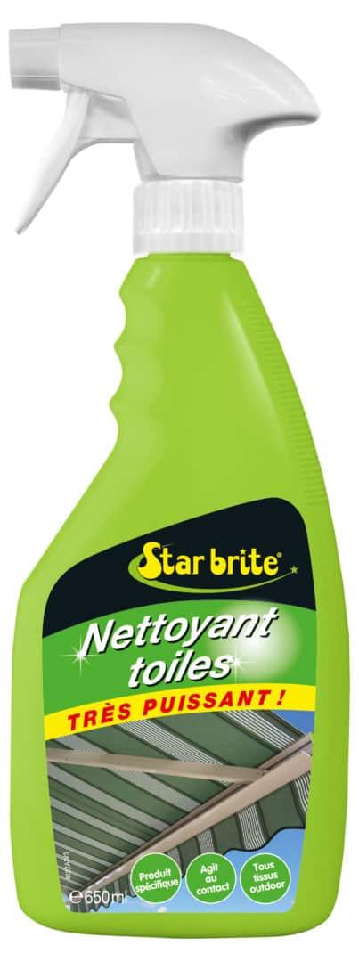 NETTOYANT TOILES 650 ml - Starbrite nettoyant toiles bâches stores 650 ml