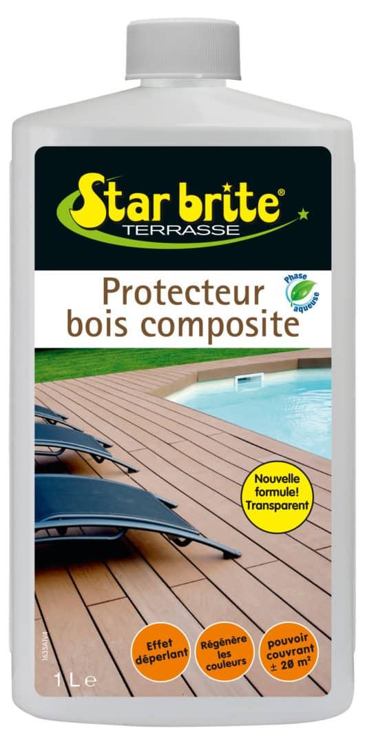 PROTECTEUR BOIS COMPOSITE 1 L - Protecteur terrasse bois composite - STARBRITE -