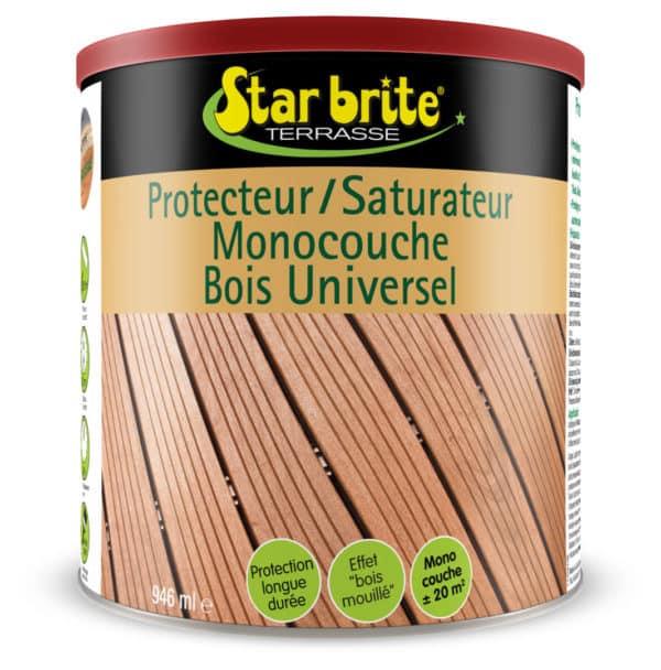 PROTECTEUR BOIS UNIVERSEL 1 L - Saturateur protecteur bois universel résineux - STARBRITE -